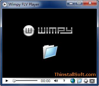Wimpy FLV Player Portable - Free FLV/SWF Player - ThinstallSoft com