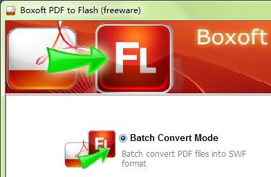 Boxoft PDF to Flash Portable