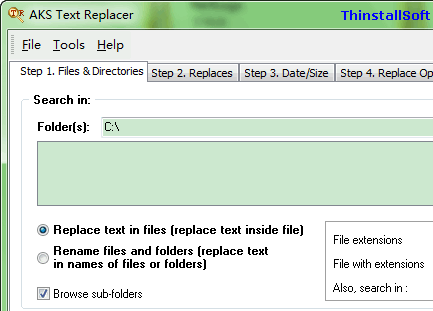 AKS Text Replacer Portable