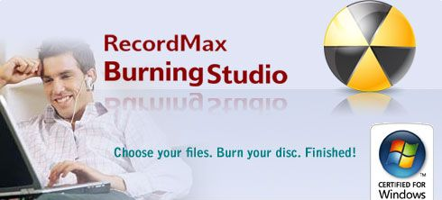 RecordMax Burning Studio Portable