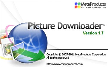 Metaproducts Picture Downloader Portable