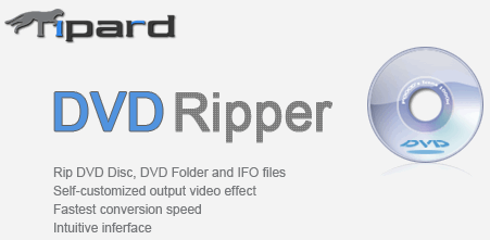 Tipard DVD Ripper Portable