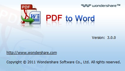 Wondershare PDF to Word Free Portable