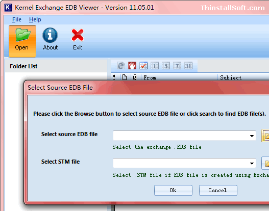 Kernel Exchange EDB Viewer Portable