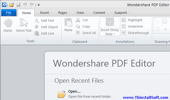 Wondershare PDF Editor Portable