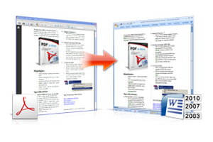 Wondershare PDF to Word Portable - Best Free PDF Converter