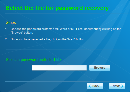 FREE Word and Excel password recovery Wizard Portable