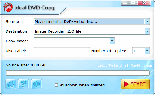 Ideal DVD Copy Portable