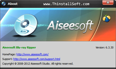 Aiseesoft Blu-ray Ripper Portable