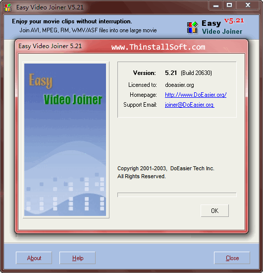 Easy Video Joiner Portable