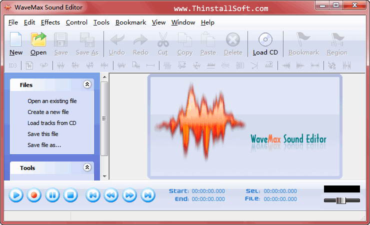 WaveMax Sound Editor Portable