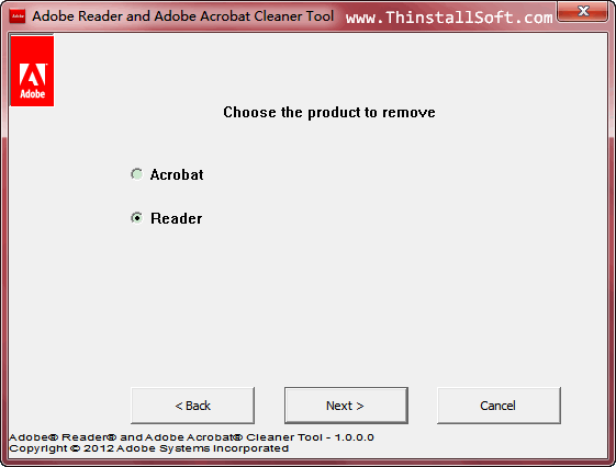 Adobe Reader and Adobe Acrobat Cleaner Tool Portable