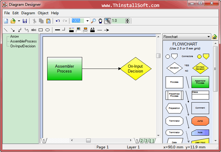 Diagram designer portable 126 best free flowchart maker diagram designer portable ccuart Image collections