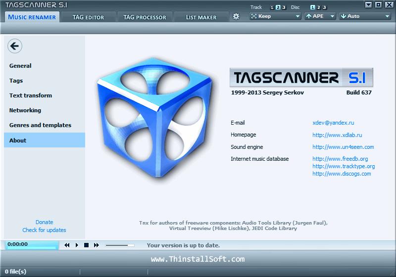 TagScanner Portable