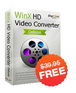 WinX HD Video Converter Deluxe Giveaway Version
